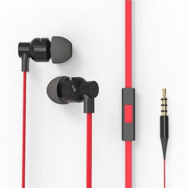 FOU Earbuds Headphones with Mic Earphones Super Bass In-Ear Wired Headsets with Mult-function for Phones MP3 Players and PC - intl