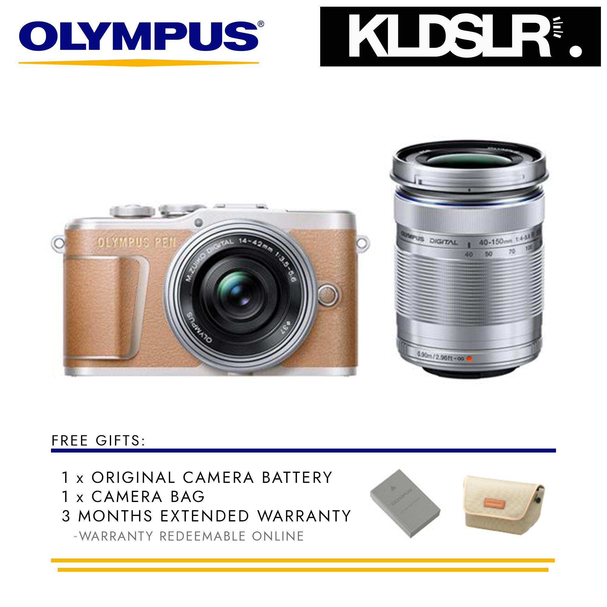 Features Olympus Om D E M10 Mark Ii Mirrorless Micro Four Thirds Kit 40 150mm Pen Pl9 Digital Camera With 14 42mm Lens