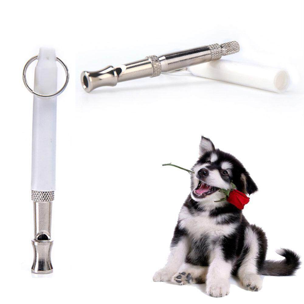 Leegoal Pelatihan Anak Anjing Peliharaan Anjing Whistle Dua Suara Ultrasonik Flute Berhenti Menggonggong Suara Ultrasonik Repeller