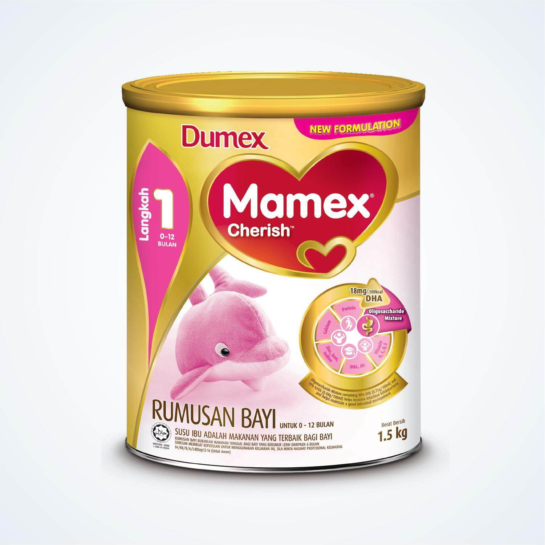 Mamex Cherish Step 1 1.5kg By Lazada Retail Mamil.