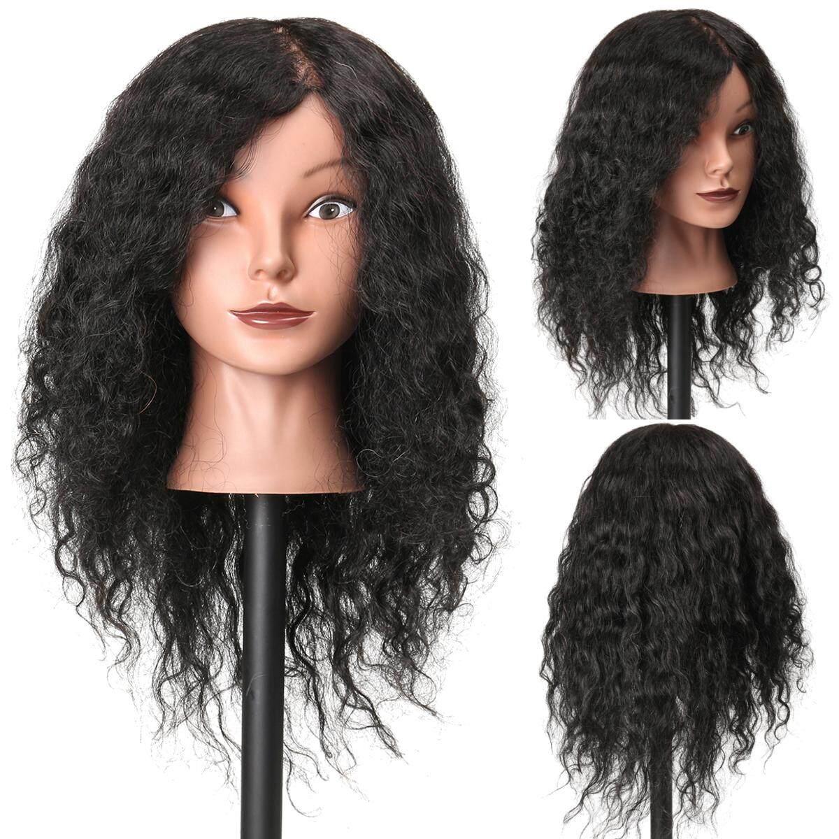 100% Salon Rambut Manis Nyata Hairdressing Latihan Kepala Praktek Model-Internasional