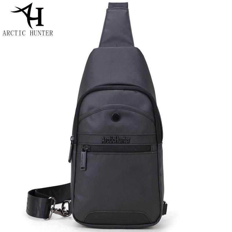 ARCTIC HUNTER Leisure Waterproof Chest Bag Stylish Sling Bag Men Messenger  Bag Trip Shoulder Bag.13001 4e450ef6b449b