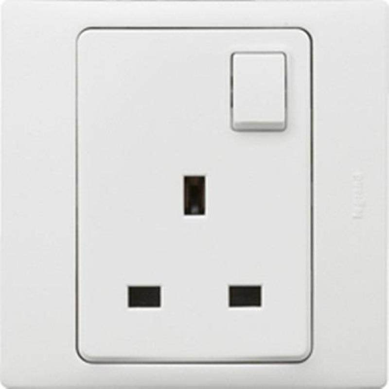 Legrand Mallia BS 13A Socket + Switch