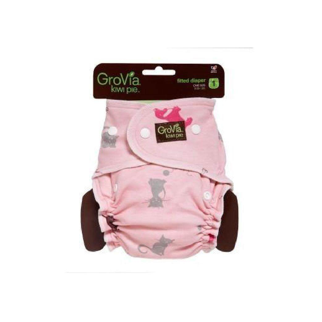 Grovia Kiwipie Fitted Cat & Dog Pink