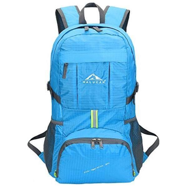 Walucan Hiking Ransel Semua Kebutuhan Bisnis Kembali Pack Ringan Lipat Packable Tahan Air Luar Ruangan Perjalanan