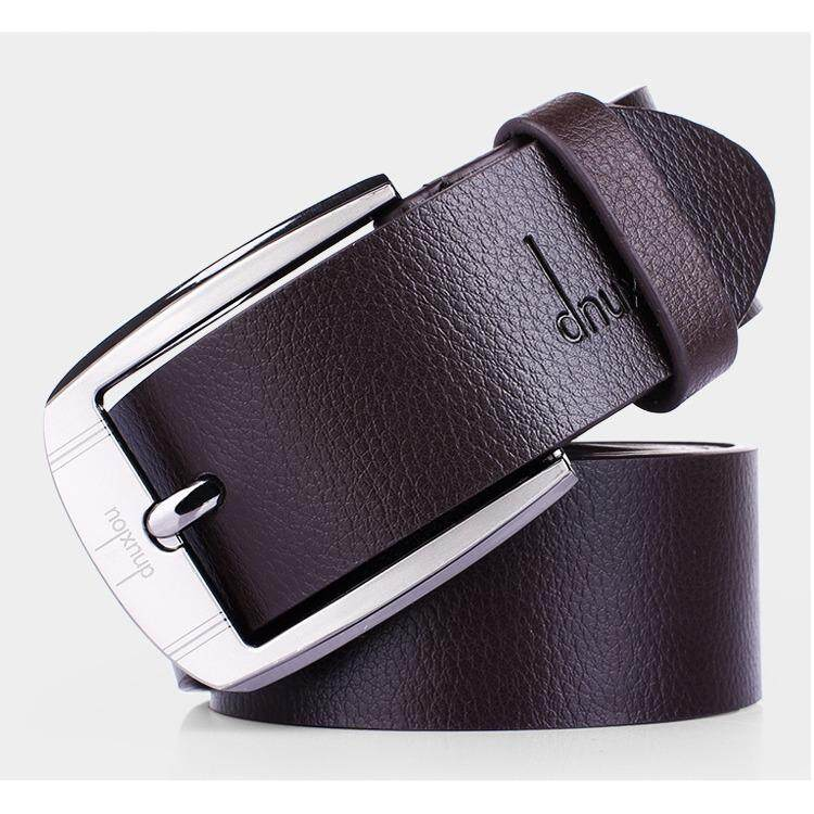 Detail Gambar Men's PU leather belt fashion contracted belt automatic belt buckle business - intl Terbaru