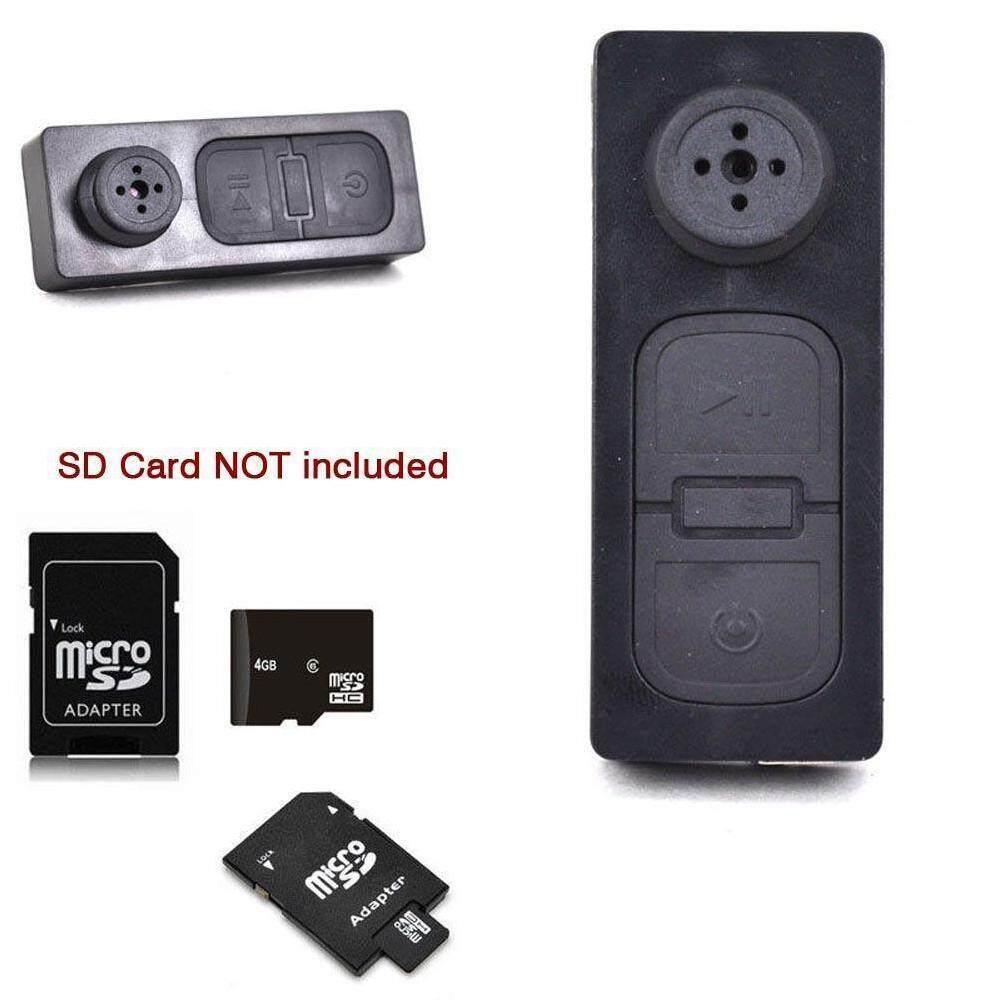 Kamera Tersembunyi Video Anti Mata-mata Detektor Tracker Tombol Lubang Jarum Perangkat Mikrofon Kecil