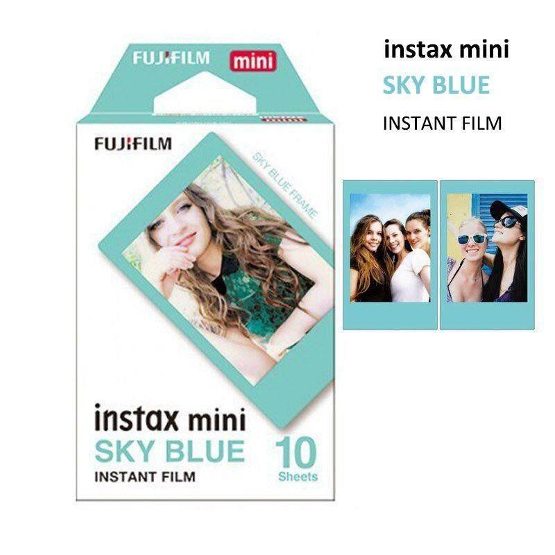 Fujifilm Mini Instax Sky Blue Film 10 Photos - Instant 7 8 50 70 90 Polaroid 300 - intl