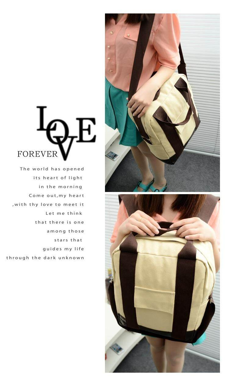 Bolster Store Korean Multi Function Use BackPack ( Brown )