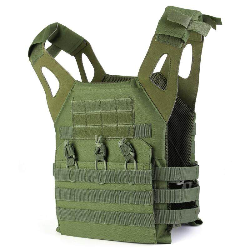 Tactical Lightweight MOLLE Army System Armor Carrier Plate Vest Pouches stock Army Green
