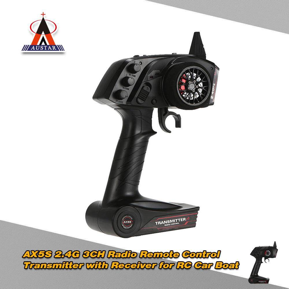 Get The Best Price For Original Austar Ax5S 2 4G 3Ch Afhs Radio Remote Control Transmitter With Receiver For Rc Car Boat Intl