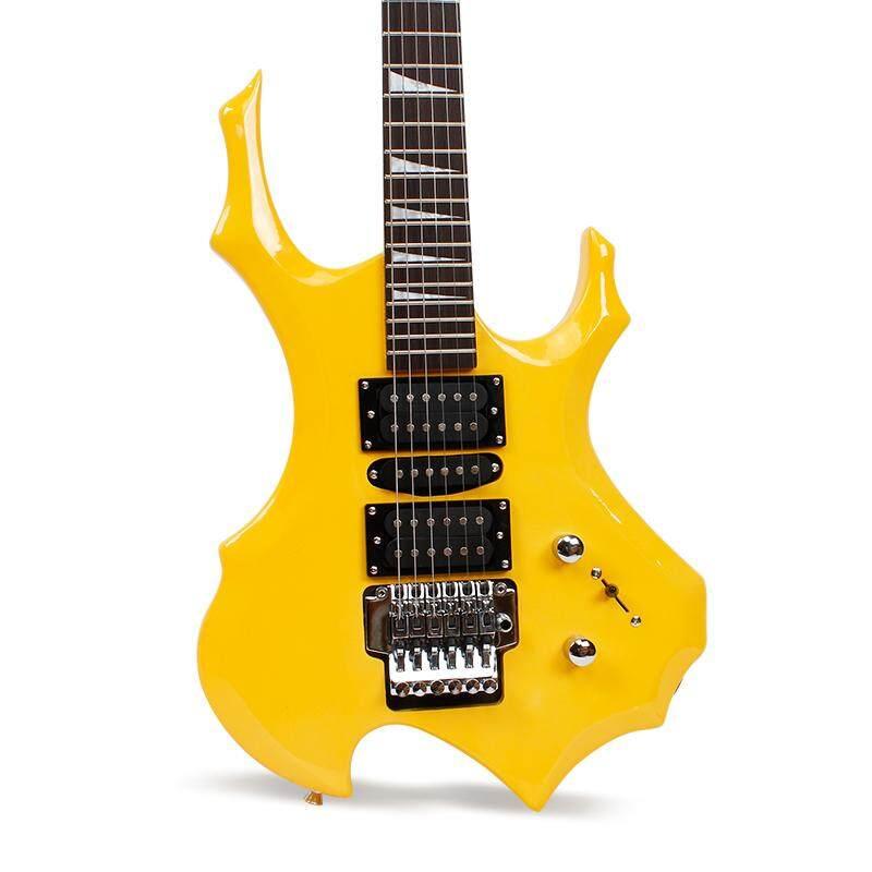 Bright color electric guitar special- shaped gitar akustik elektrik maple electric guitar