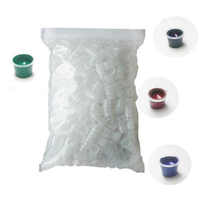 Jual Seksi Modis 1.5 Cm Disposable Kecil Tinta Pigmen Topi 500 Pcs Pemegang Piala Plastik Tato A2 A3 Rowellshop- internasional