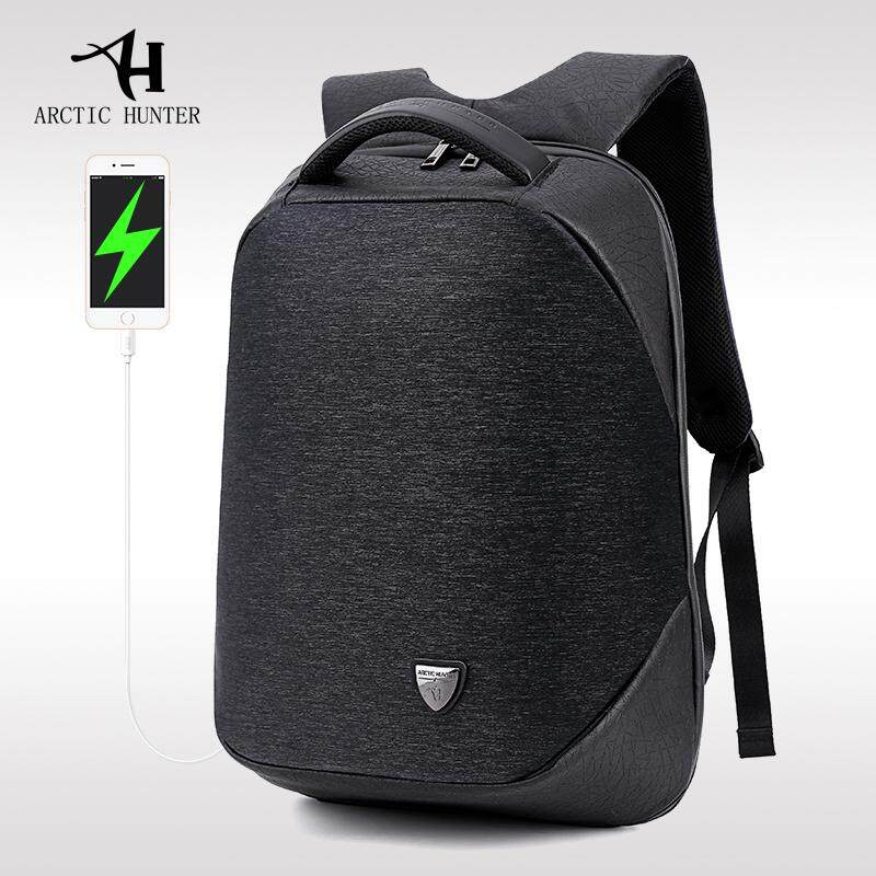 Best Reviews Of Arctic Hunter Brand Extreme Anti Theft Laptop Backpack Fits Up To 15 6 Computer With Usb Charge Port