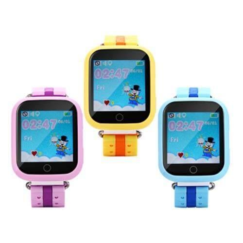 Q750 KIDS SAFETY MONITORING GPS INTELLIGENT SMART WATCH (BLUE)