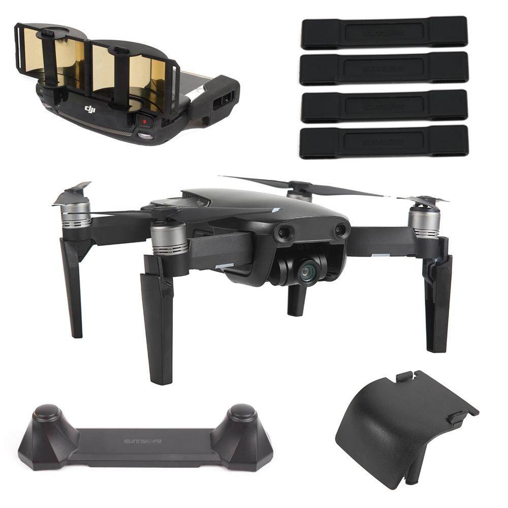 5 in 1 DJI Mavic Air Accessories kits, Signal Booster Antenna,Lens Cover,Landing Gear, Joystick Protector ,Propeller Stabilizers - intl Singapore
