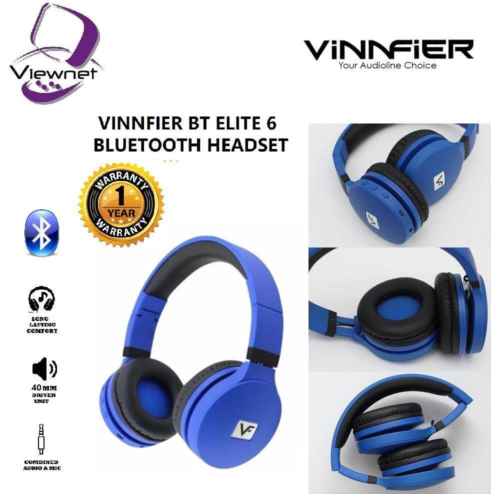 GENUINE VINNFIER BT ELITE 6 BLUETOOTH HEADSET