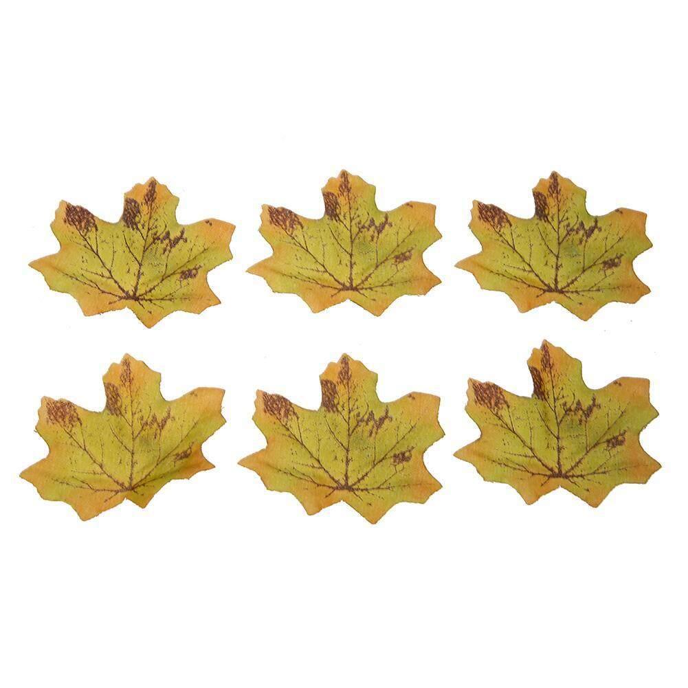 100 Pcs/bag Palsu Sutra Maple Daun Rumah Pesta Pernikahan Dekorasi-