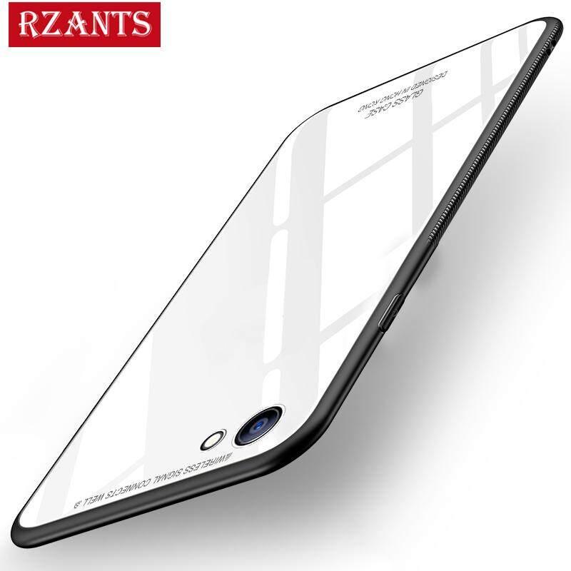 ซื้อ Rzants เคส For A83【Glass】Hybrid Protective Clear Ultra Thin Light Hard Back Case เคส For Oppo A83 Intl ถูก ใน จีน