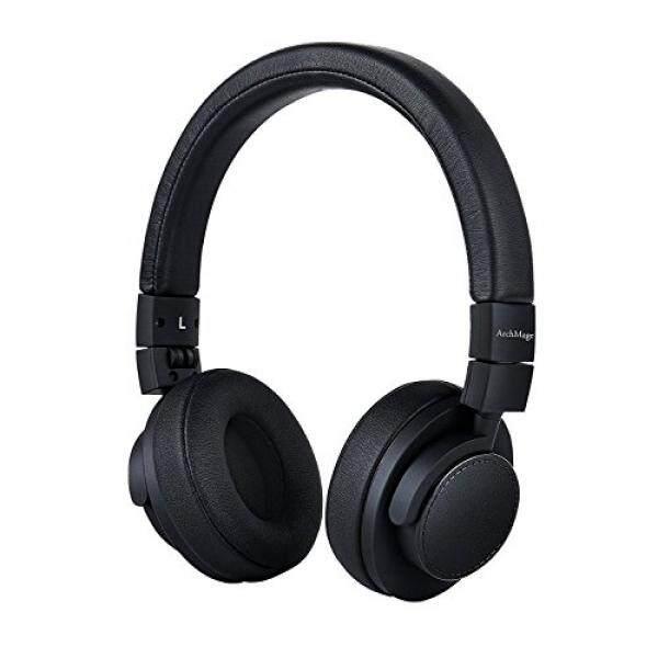 Archmage Portabel On-Telinga Headphone S untuk Anak Laki-laki Perempuan Remaja atau Orang Dewasa-Ringan, Dapat Disesuaikan, lipat Headphone-Kabel Yang Dapat Dilepas dengan Mikrofon Dalam-Tali, Tas Jinjing Kompak (Kabel)-Internasional