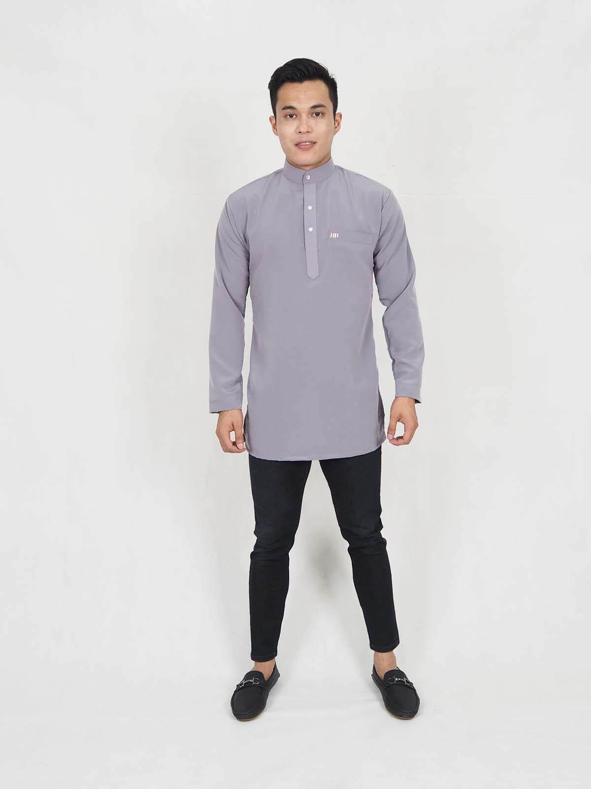 Muslim Men Fashion Moden Slim Fit Kurta / Henrietta Slim Fit Men Top (XXS-XL) / Kurta / Muslimin Kurta / Ready Stock / Muslimin Men Kurta Raya 2020 / Murah / Ship from Malaysia / Hot Product