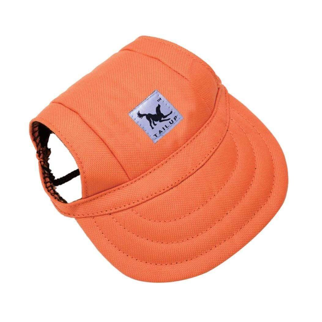 new product 280c3 34693 (Medium, D) - Sumen Summer Canvas Lovely Hat Puppy Visors Caps For Small