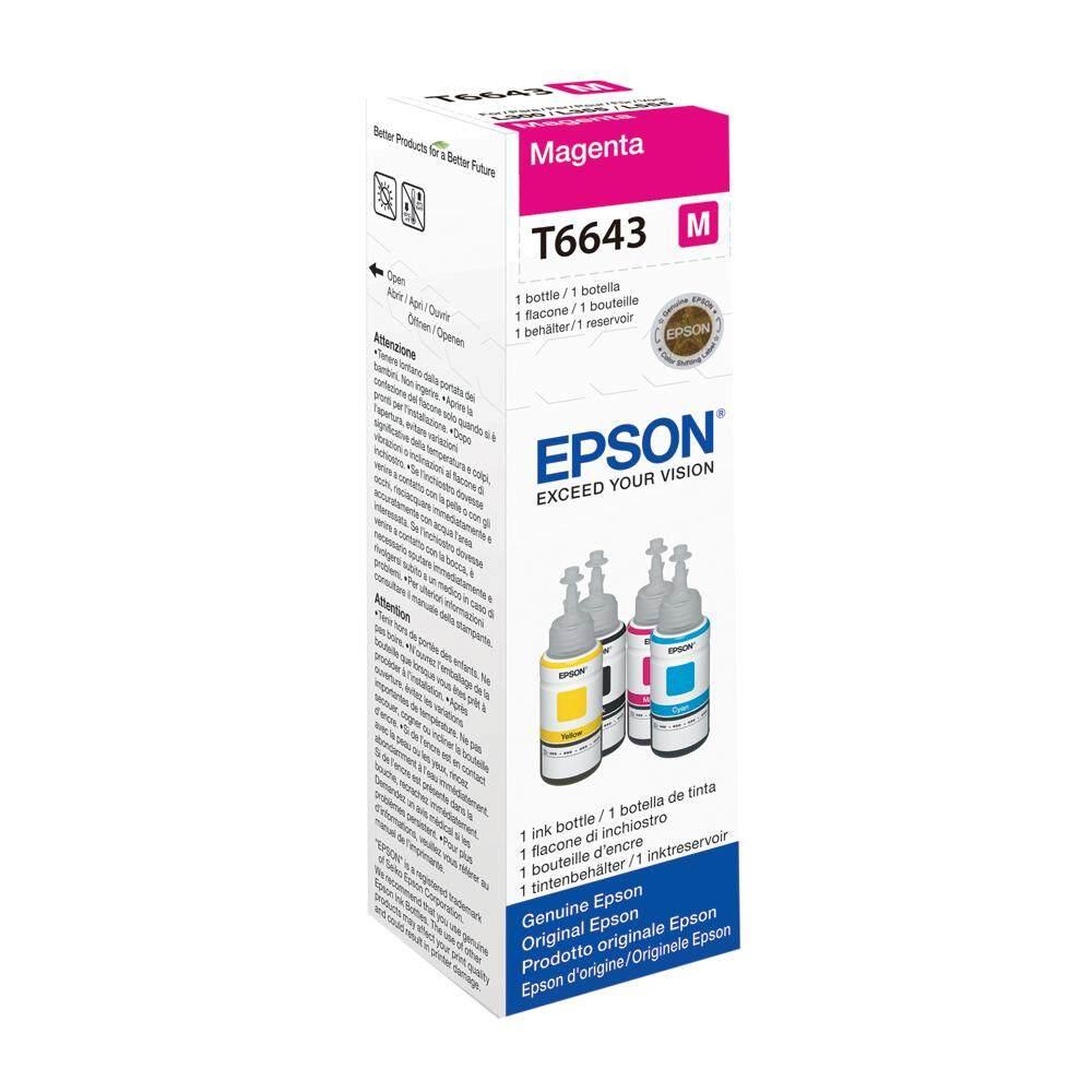 Sell Epson T6643 Magenta Cheapest Best Quality My Store Tinta T664 L Series L100 L110 L120 L200 Myr 30