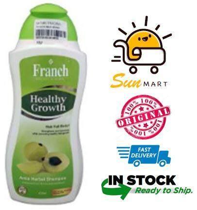 Franch healthy growth amla herbal shampoo 400ml
