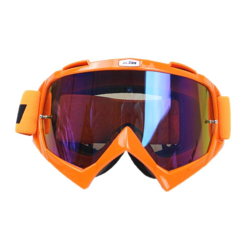 Anti-distorsi Anti-Crash Lintas Negara Tahan UV Kacamata Olahraga Kacamata Khusus untuk Helm Sepeda Motor-Internasional