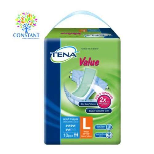 Tena Value Adult Diaper L 10's