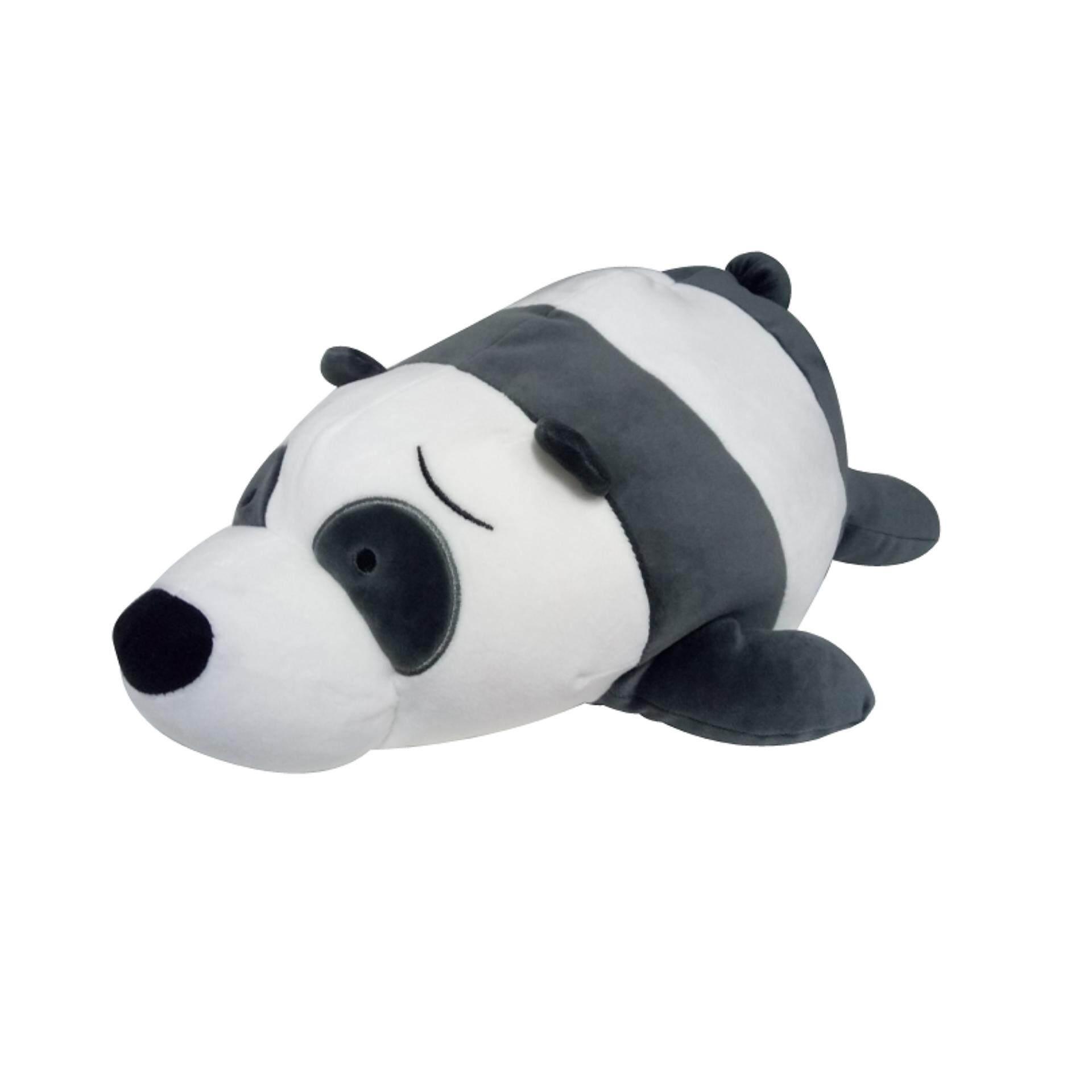 We Bare Bears Lie Down Cushion 14 Inches - Panda
