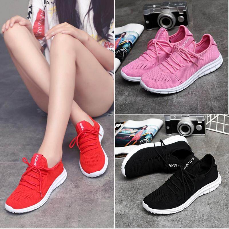 Top Rated Cc Women S Fashion Sneakers Sport Shoes Running Shoes Breathable Mesh Fabric Shoes