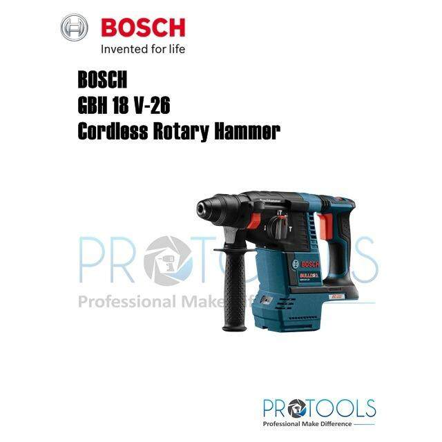 Bosch GBH 18V-26 Professional SOLO Cordless Rotary Hammer