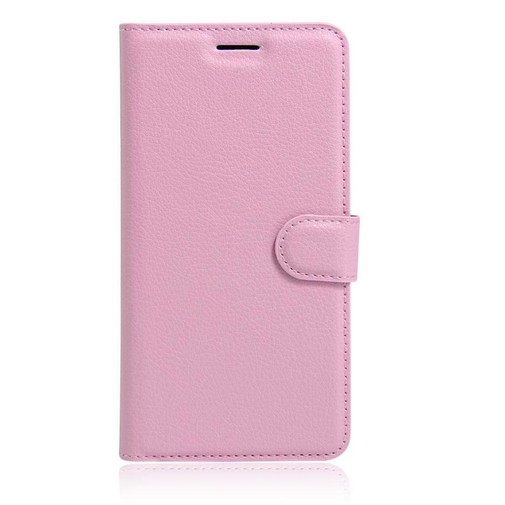 PU Leather Flip Cover Wallet Card Holder Case For Alcatel POP D1 / 4018D - intl