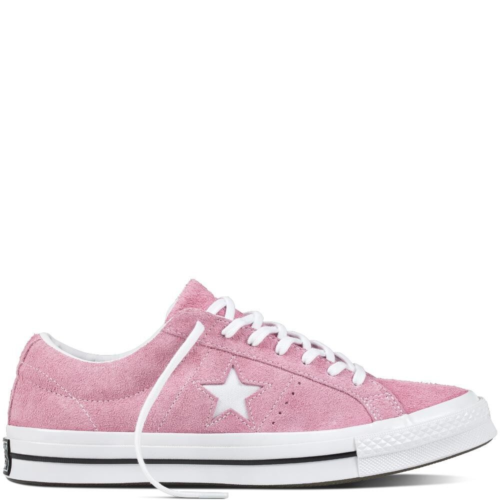 Buy Converse One Star Ox Light Orchid White Black 159492C Converse Cheap