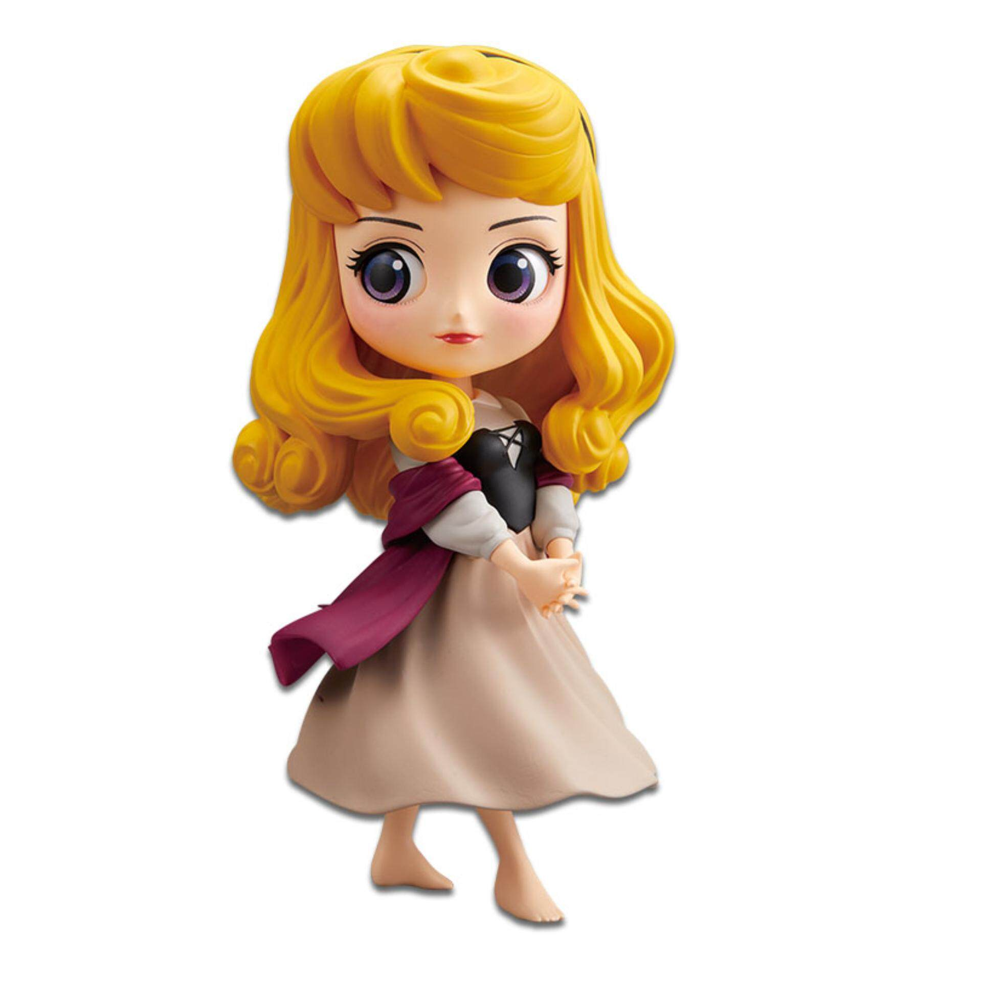 Banpresto Q Posket Disney Princess Figure Normal Version - Briar Rose (Aurora) Toys for boys