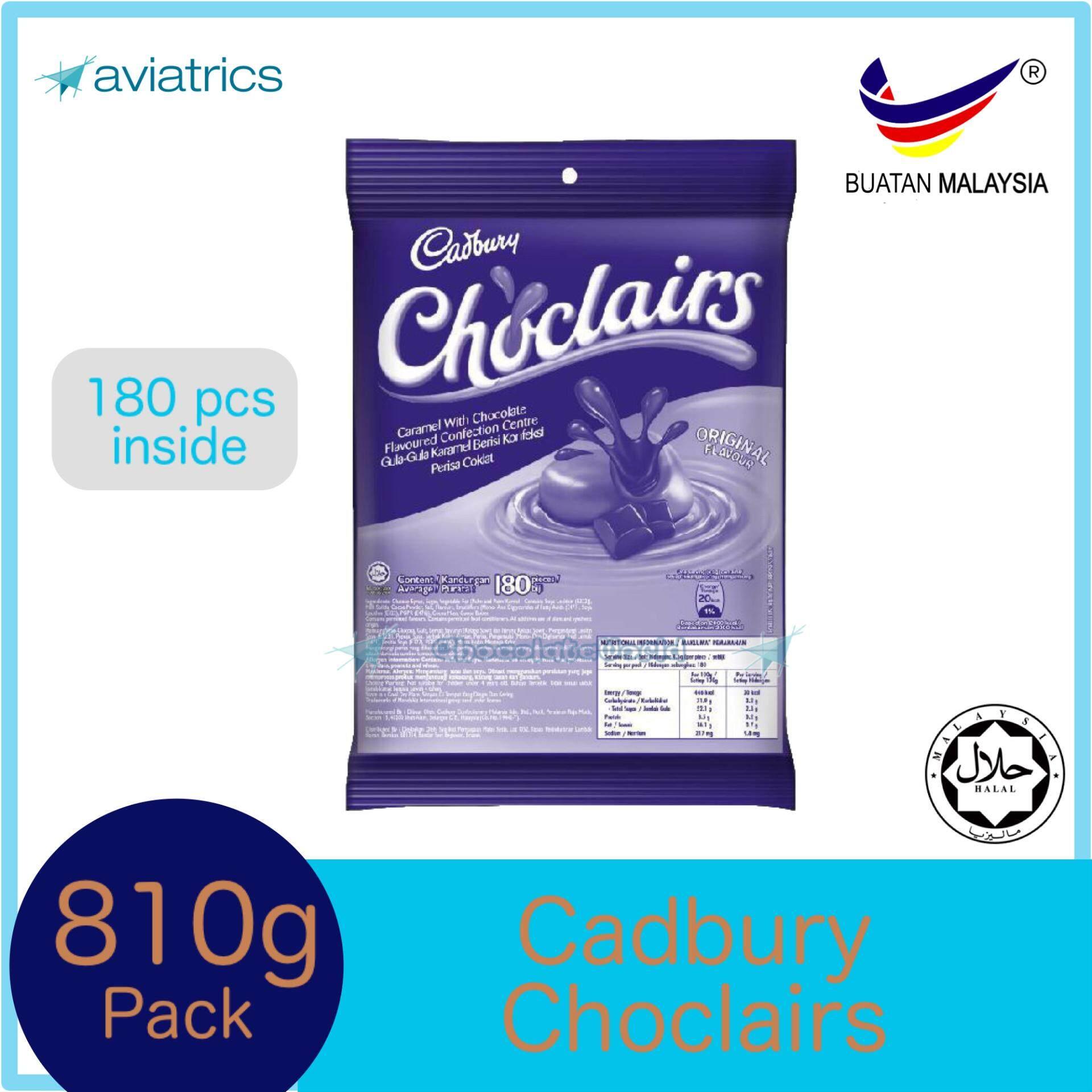Choclairs Caramel Chocolate 180pcs Refill Pack