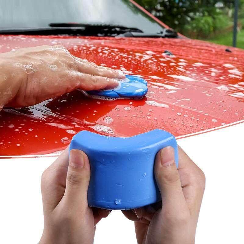Costel 1 cái 100 gam Ma Thuật Giúp Lau Chùi Vệ Sinh Xe Chi Tiết Sạch Đất Sét Chăm Sóc Rửa Bụi Bám Cặn Bùn Tháo- quốc tế