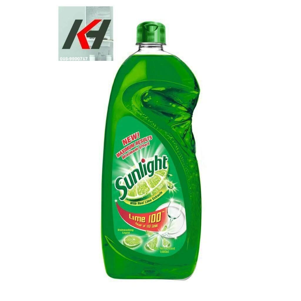 Sunlight Dishwash Liquid Lime 1L READY STOCK