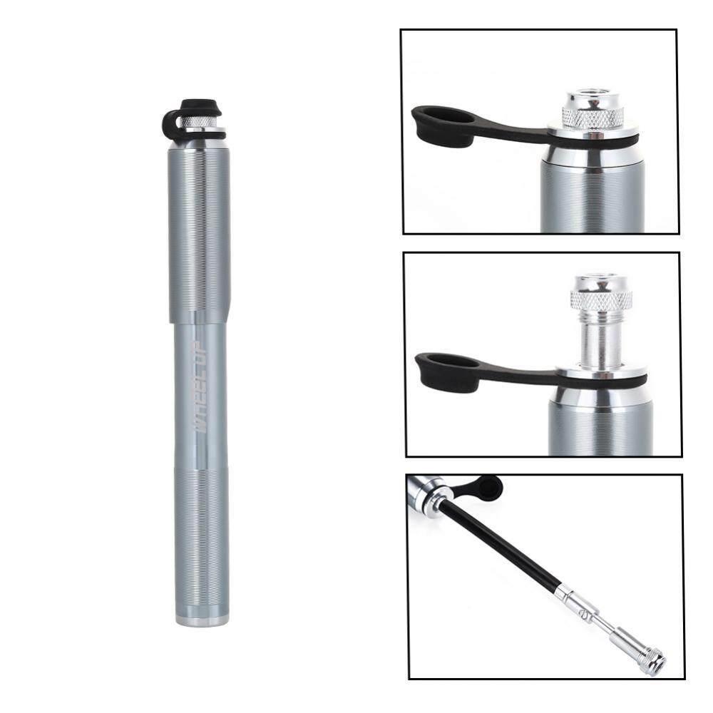 Mini Pompa Sepeda Sepeda Lipat Balls Portabel Udara Inflator Alat Aksesori- internasional