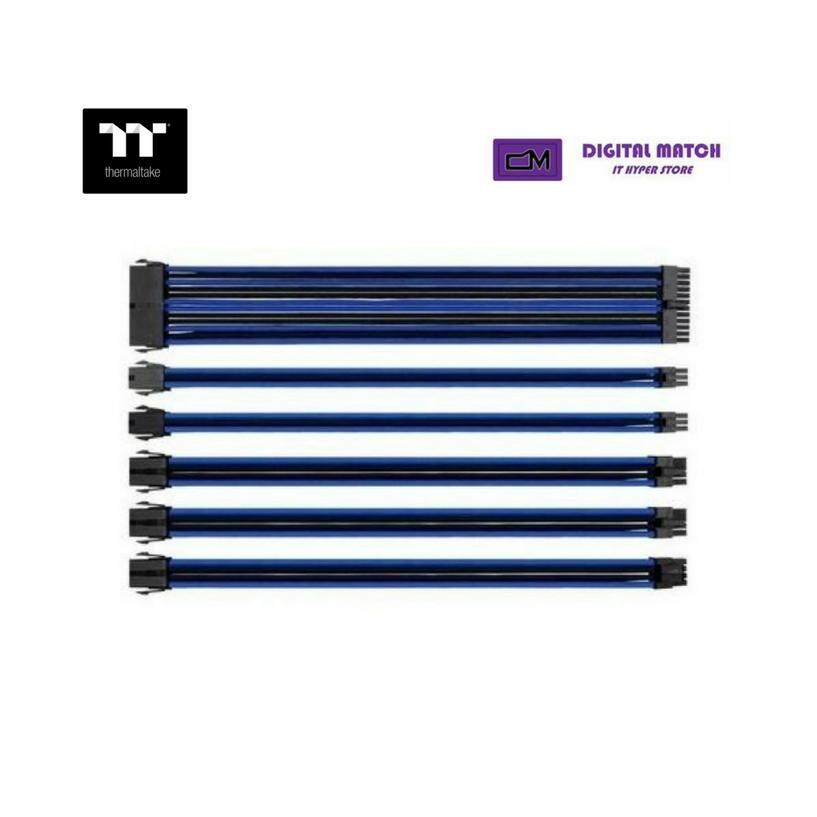 Thermaltake TTMod Sleeve Cable (Cable Extension) - Blue/Black Malaysia
