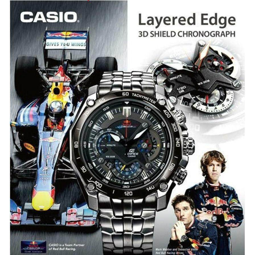 Casio Edifice Watches Price In Malaysia Best Efr 529d 1a2vdf Jam Tangan Pria Stainless Steel Black Advanced Quality Men Casual Watch Chronograph All Function