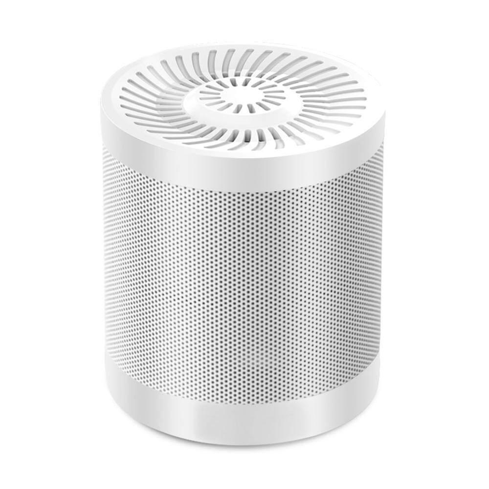 Mengyanni Nirkabel Bluetooth V4.0 Speaker Portable Pengeras Suara Rumah dengan 12 Jam Waktu Bermain, 10 Meter Jangkauan Bluetooth, TF Slot Kartu, Alat Bantu Audio Input, Flashdisk, Dukungan untuk Smartphone/PC (Putih)-Intl