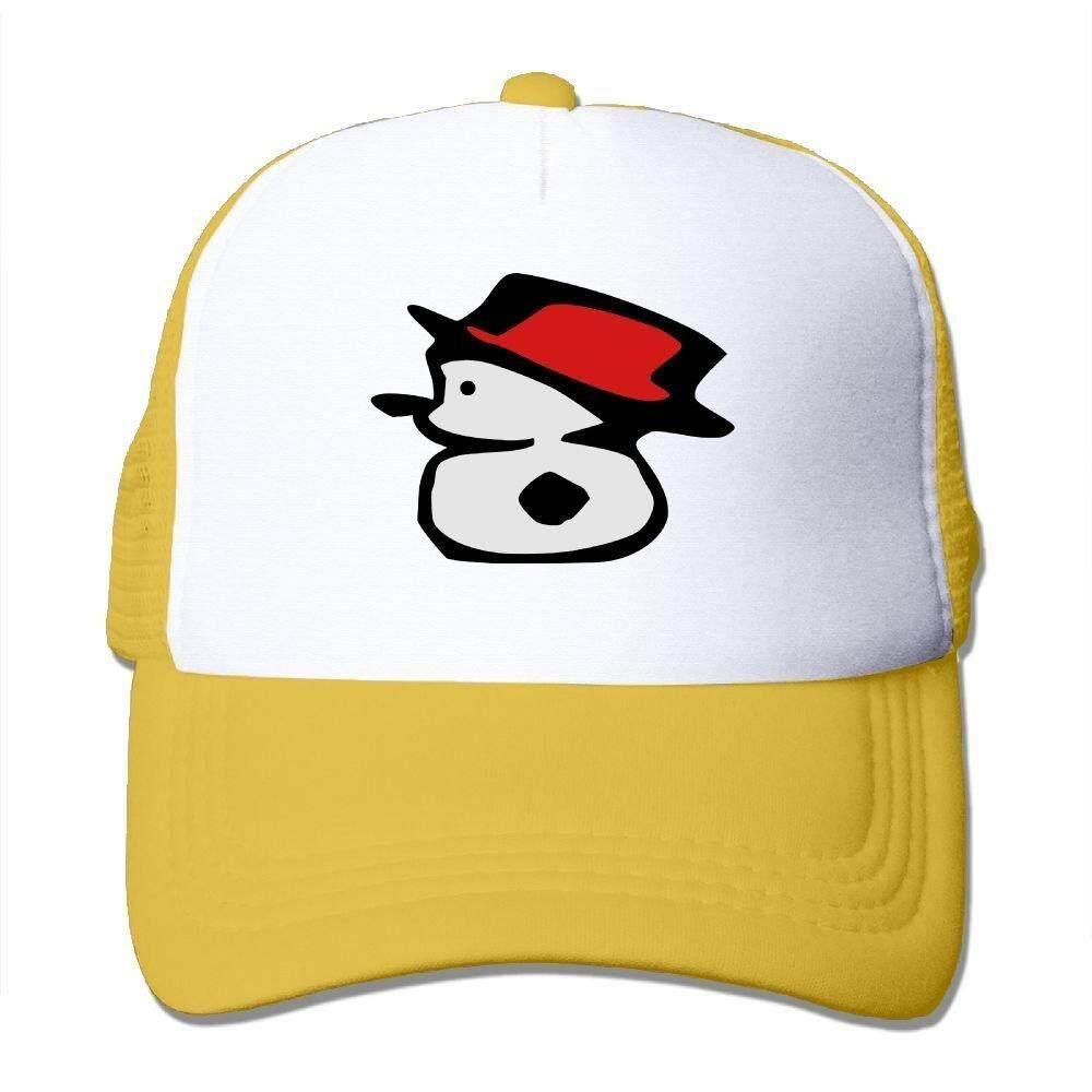 Kecil Yang Lucu Manusia Salju Vektor Grafis Seni Busa Besar Topi Baseball Trucker Mesh Kembali Topi Yang Dapat Disesuaikan-Intl