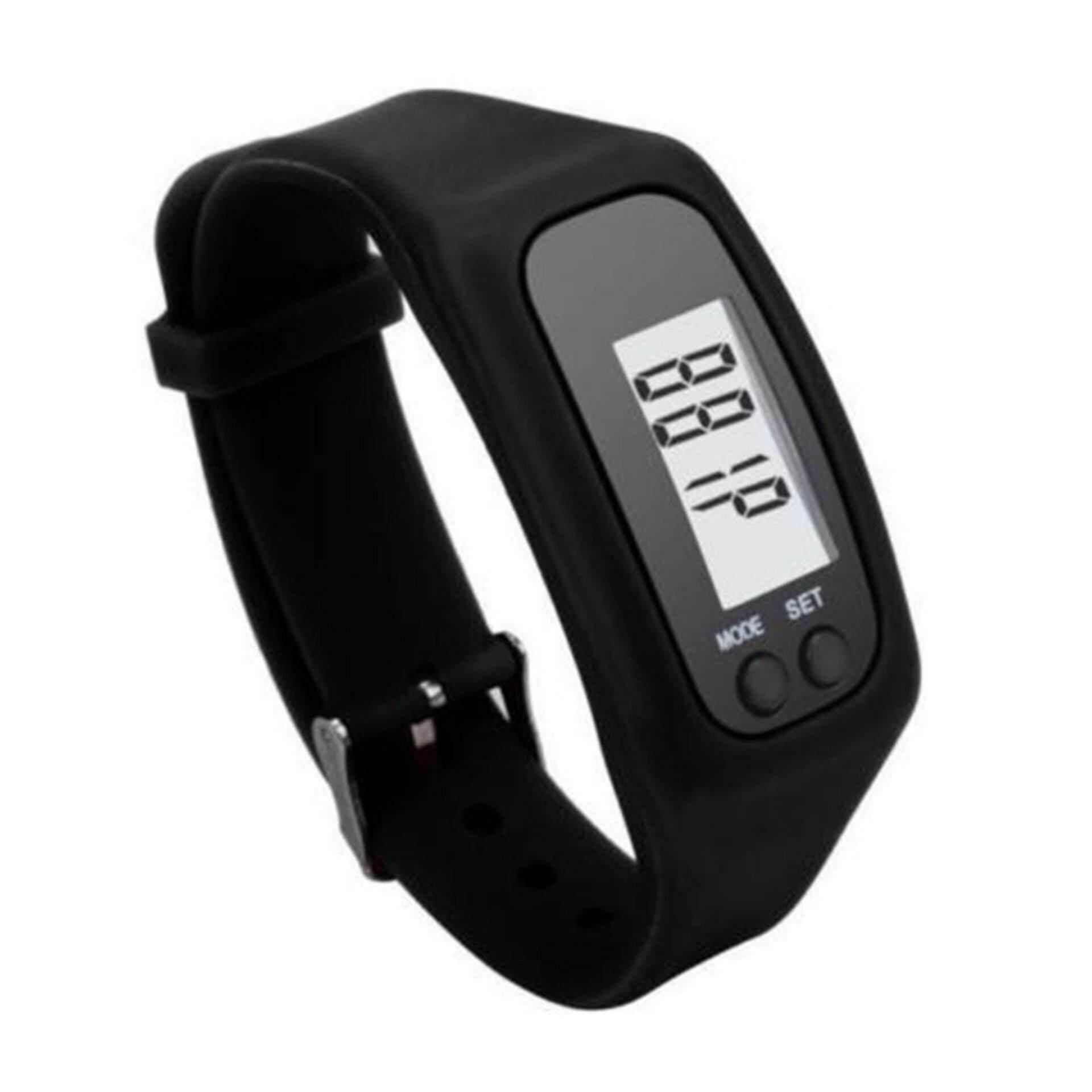Yika Sports Watch Digital Pedometer Walking Distance Calorie Counter Watch Bracelet