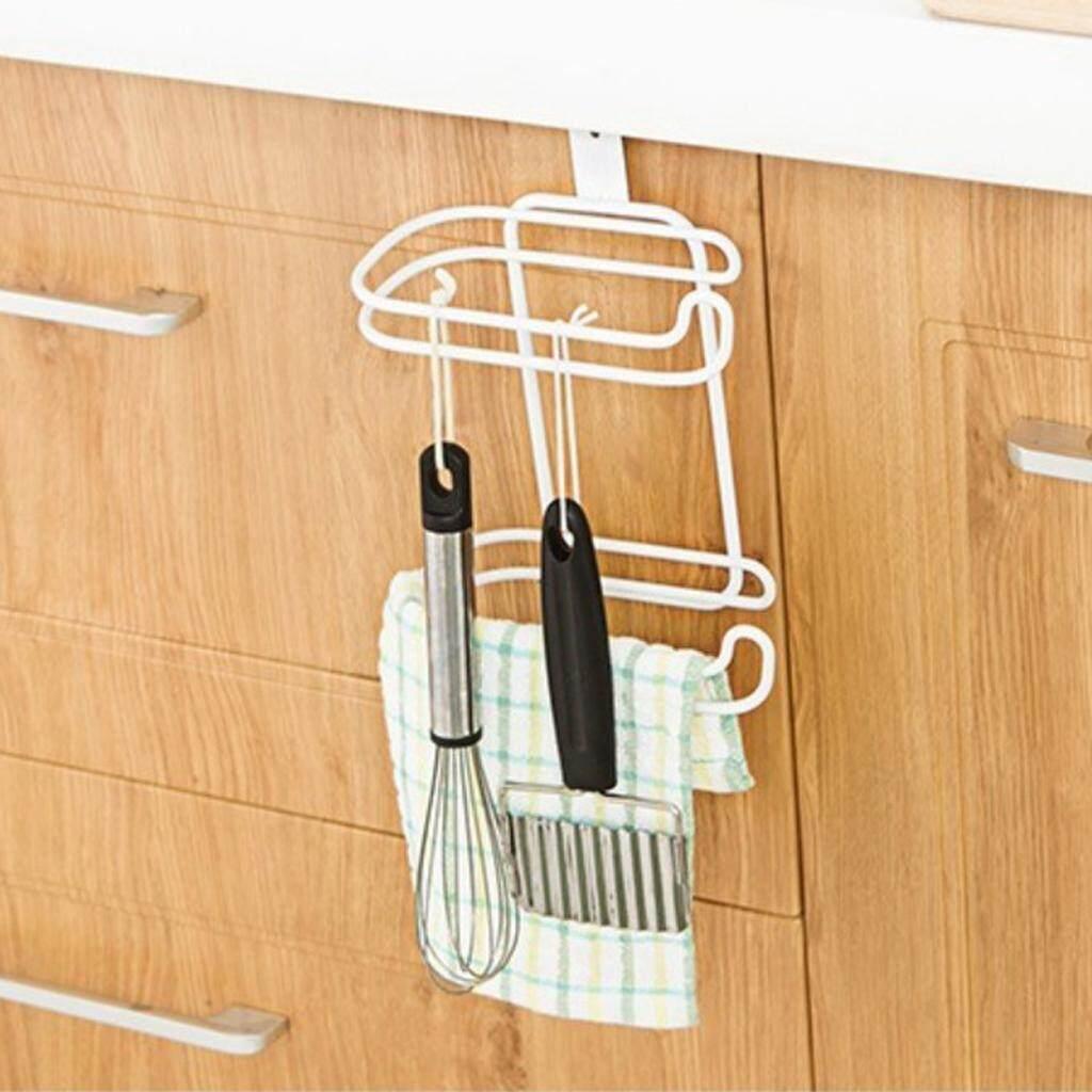 Bolehdeals Kertas Gulungan Handuk Penahan Rak Penyimpanan Besi Dapur Toilet Lebih Cabinet Pintu-Internasional