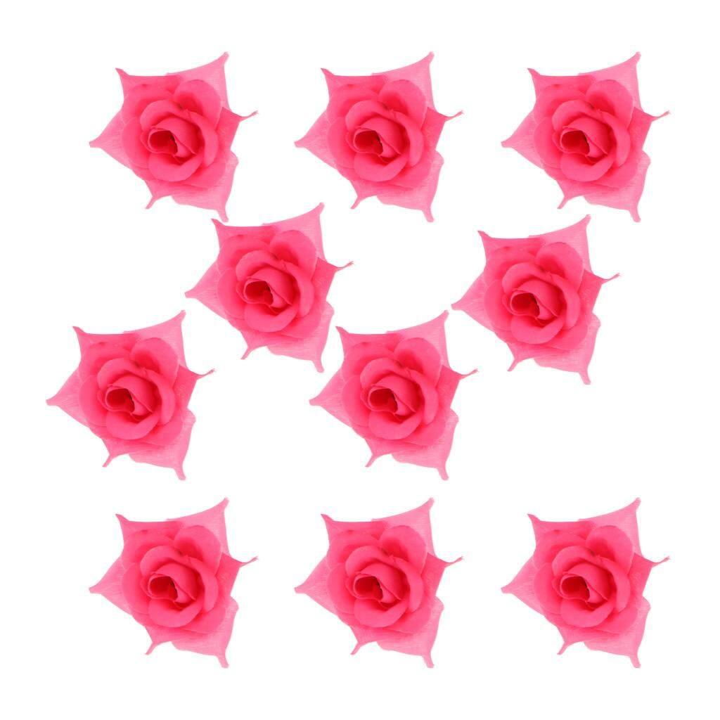 Rp 46.000. Bolehdeals 10 Pcs Buatan Mawar Kepala Bunga Buket Rumah Pesta  Pernikahan ... d0bfa18f23