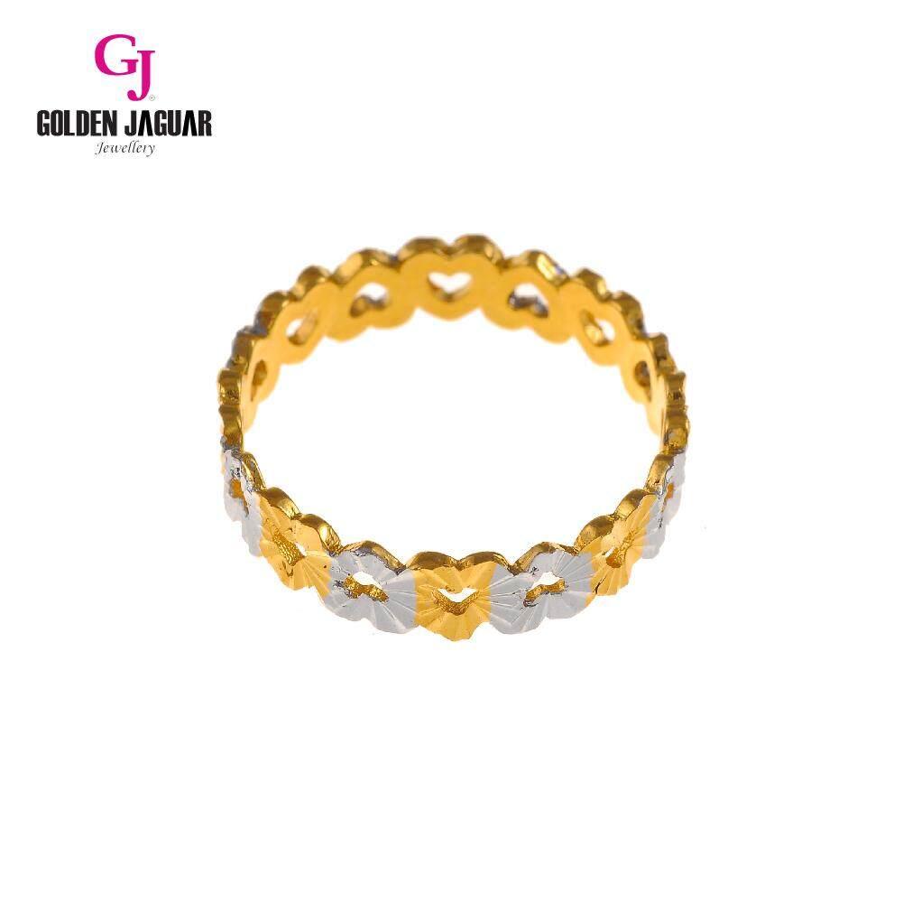 GJ Jewellery Emas Korea Ring - Love Kikir (88812)