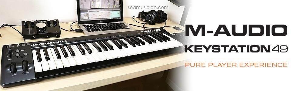 m audio keystation 49 ii 49 key us end 5 31 2020 1 35 pm. Black Bedroom Furniture Sets. Home Design Ideas
