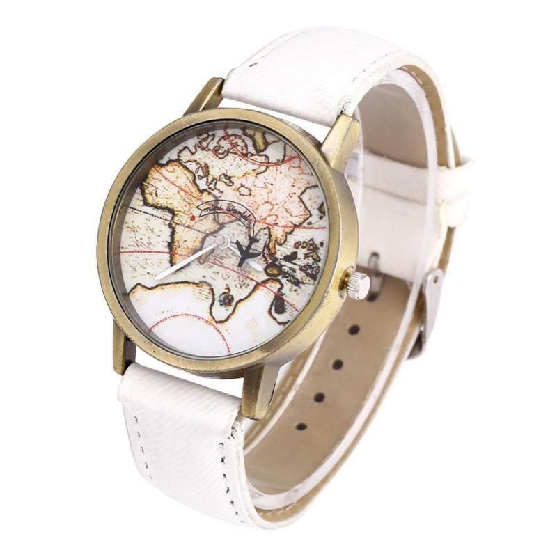 4Colors Female Quartz Watch Analog Wrist Watch Round Denim Strap Wristwatch Malaysia